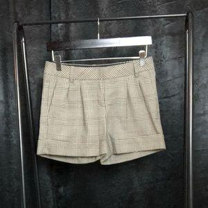 🔴3/$15🔴Express Plaid Cuffed Editor Shorts